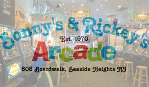 Sonny's & Rickey's Arcade - Seaside Heights, NJ