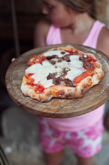James Nord Highlighted Life: Pizzas made in a wood fire oven
